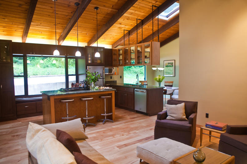 Cabin In The Woods A Complete Remodel Of A Very Marginal